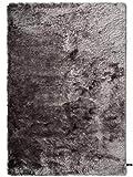 benuta Shaggy Hochflor Teppich Whisper Grau 160x230 cm | Langflor Teppich für Schlafzimmer und Wohnzimmer