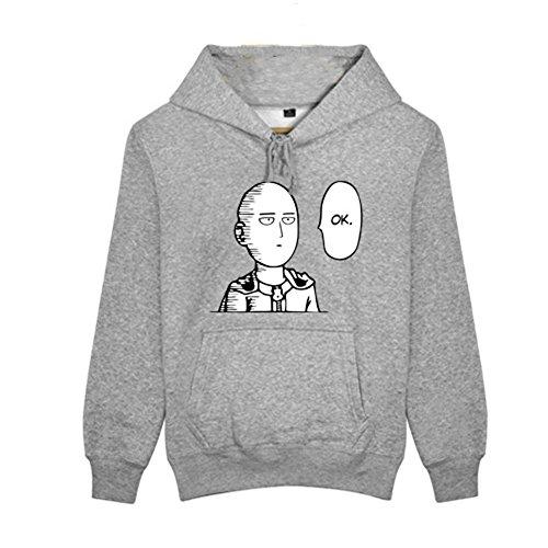 Homme Sweat à Capuche Hoodie Cosplay Costume Pull Coton Sweat-shirt Fleece Vêtements pour Adult Anime Manga Accessoires