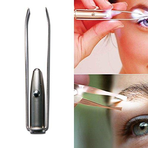 LUFA Outils de maquillage de pincettes de pince de cil de sourcil de cil de sourcil