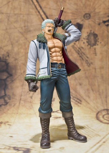 "Bandai Tamashii Nations Figuarts Zero Smoker ""One Piece"" (Static Figure) [Toy] (japan import) 3"