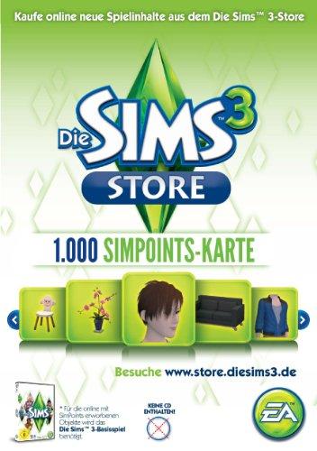 Simpoints Card 1000 (Prepaid - Card) - [PC] (Card Game Ea Code)