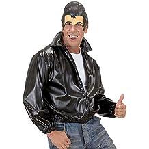 NET TOYS Masque sans menton Elvis avec banane loup Grease masque d homme années  50 249f25a72e8f
