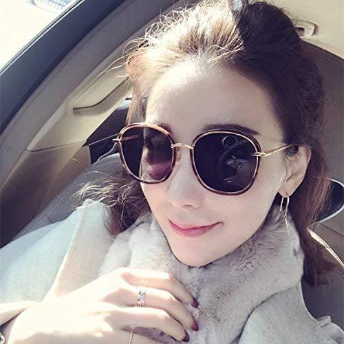 Stil der runden Sonne Spiegel weibliche Flut Sonnenbrille kurzsichtig Sonnenschutz der große Rahmen Stern und Stil ist Teil der leichten Brille