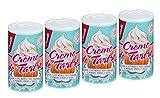 Castelló Since 1907 Crème de tartre – Pack 4 x 60 gr - Total: 240 gr