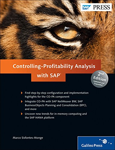 Controlling-Profitability Analysis with SAP : Configuring CO-PA par Marco Sisfontes-Monge