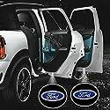 Inlink 2 * Car LED Projector Door Lamp Ghost Shadow Welcome Light Laser Emblem Logo Kit for Ford