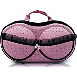 PETRICE Deluxe Women's Underwear Case Travel Portable Storage Bag Box Protect Bra Panty Lingerie Organizer (Colour May Vary)