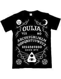 Planche Ouija T Shirt Gothique Femme Homme Noir