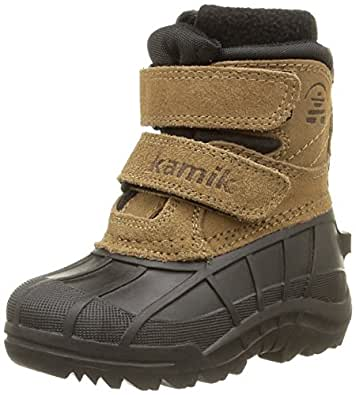 Kamik Snowberry WK8302, Unisex-Kinder Schneestiefel, Beige (putty PUT), EU 25(US 8)