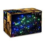 200 LED Lichterkette Bunt Multifunktional inkl. Memory Funktion 20M Innen/Außen Weihnachten