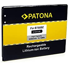 PATONA Bateria B700BE para Samsung Galaxy GT-i9200 GT-i9205 GT-i9208 i527 i9200 i9205 i9208 Mega 6.3 Mega 6.3 LTE SGH-i527