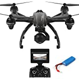 Dazhong JXD Quadcopter 5.8G FPV Drone avec caméra HD 2.0MP Baromètre Set High One-Key-return Headless 2.4G 4Ch 6-Axis RC Quadcopter + Extra 2pcs Batteries