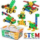 Fivejoy Juguetes de Construcción, Bloques de Construccion, Construcción Educativos - Aprendizaje Juegos Creativa (Aviones, Animales, Automóvil, Robot ect...), Juegos Regalo, Niños y Niñas