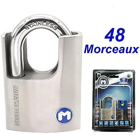 MOK @32/50WF (KD), Best Lucchetto, ogni elemento di bloccaggio sono realizzati in acciaio INOX 304, (Kd Lucchetto)