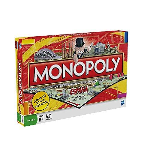 Hasbro Gaming - Juego de mesa Monopoly España (01610105)