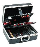 Peddinghaus Handwerkzeuge Universal-Werkzeugtrolley Kunststoff 128-teilig