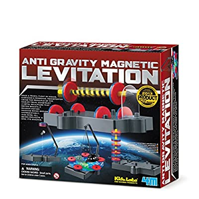 4M Kids Labs Anti Gravity Magnetic Levitation Kit from Great Gizmos