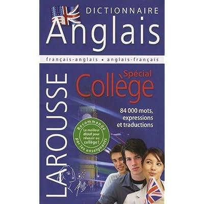 Dictionnaire Français Anglais & Anglais Français spécial collège