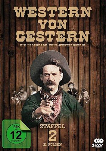 Western von Gestern - Staffel 2 (21 Folgen) (Fernsehjuwelen) [3 DVDs] - Western Cover