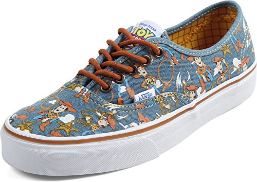 Vans - Unisex-Adult Authentisches Schuhe, EUR: 35, (Toy Story) Woody/True White