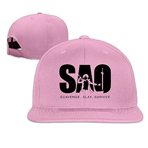 thna-sword-art-online-anime-adjustable-fashion-baseball-cap-pink