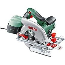 Bosch PKS 55 A - Sierra circular (disco de sierra, tope paralelo, caja de cartón, 5600 rpm, 1200W)