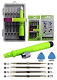 Pagkis Reversible Screwdriver Set With Openers (T2, T4, T5, T6, 0.8 Star, Ph00 And Ph000) For Smartphones