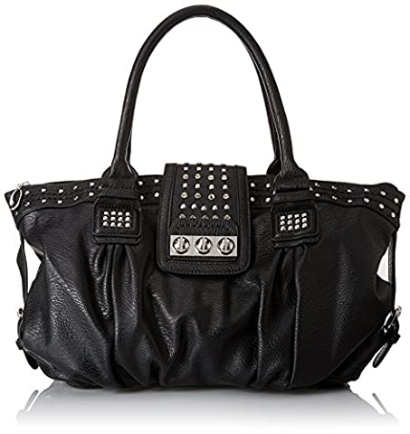 MG Collection Brenna Metal Studded Soft Leatherette, Damen Shopper ,