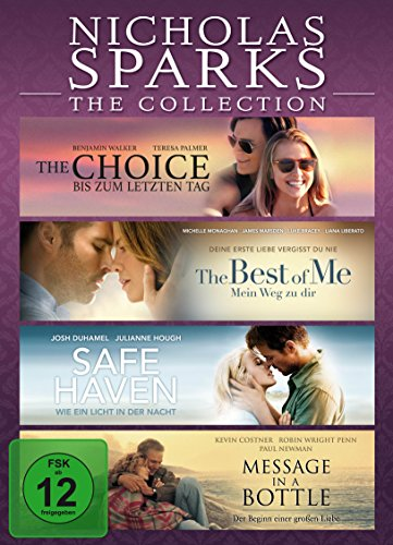 Nicholas Sparks - The Collection [4 DVDs]