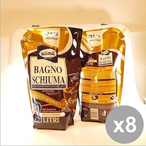Set 8 MIL MIL Bagno 2L Argan Busta Bagnoschiuma e saponi per il corpo