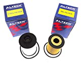 #2: ALTECH Hi-Performance Oil Filter + Diesel Filter Set For Chevrolet Optra Magnum Diesel