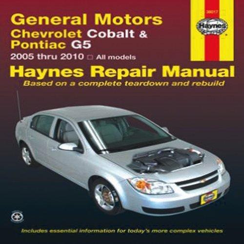 general-motors-chevrolet-cobalt-pontiac-g5-2005-thru-2009-all-models-haynes-repair-manual-by-jj-hayn