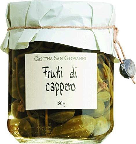Cascina San Giovanni Kapernäpfel in Weinessig 180 gr.