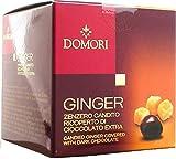 Domori Dragées Zenzero Ricoperto di Cioccolato Fondente - 70 gr