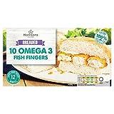 Morrisons 10 Omega 3 Fish Fingers, 300g (Frozen)
