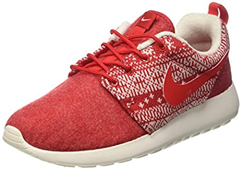 Nike - Wmns Roshe One Winter - Chaussures De Sport, femme, rouge (university red/unvrsty red-sl), taille 40