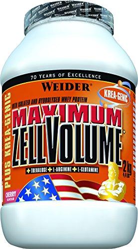 Weider, Maximum Zell Volume+Krea-Genic, Kirsche, 1er Pack (1x 2 kg)