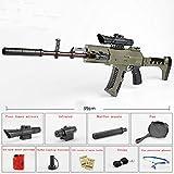 Fernando S.L Arma de Bala de Agua-Arma Airsoft - M762 Rifle de Francotirador Modelo de Juguete-Juguetes de Réplica de Armas para Niños Adultos