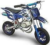 KENROD Moto-Cross de Gasolina | Moto Cross | Mini Moto dos tiempos | Motocross de 49CC | Color Azul