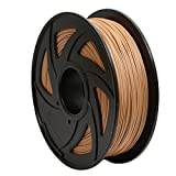 GEEETECH Filament PLA 1.75mm for 3D Drucker 1kg Spool, Holz