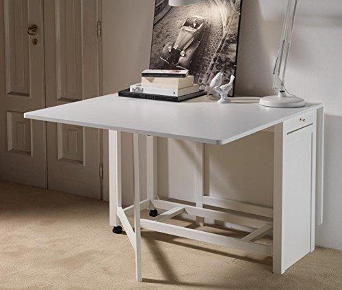 Tavolo A Consolle Pieghevole Richiudibile.Idea Tavolini Tavoli Console Trasformabili Tavolo