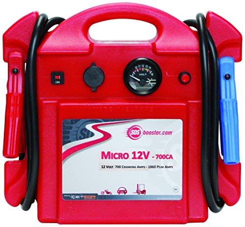 SOS BOOSTER 861001 Booster de Batterie Professionnel Micro 12 V - 700 CA