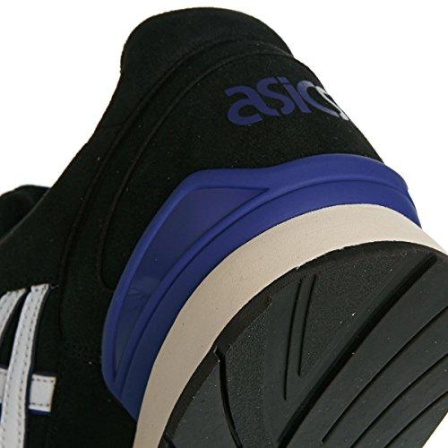 Asics Unisex-Erwachsene Gel-Atlanis Sneaker schwarz - weiß - blau