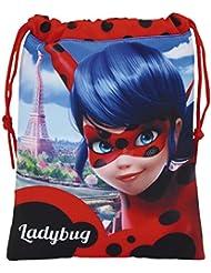 Safta Ladybug Kosmetiktäschchen, 25 cm, Rot (Rojo)