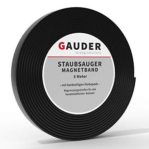 GAUDER Saugroboter Magnetband NEUE VERSION 2019 I passend für Neato Xiaomi Miele Vorwerk Tesvor
