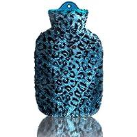 Wärmflasche mit Schneeleopard-Bezug, mit 2 Liter Gummi-Wärmflasche preisvergleich bei billige-tabletten.eu