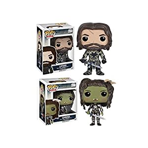 Funko POP Warcraft Lothar Garona Stylized Movie Vinyl Figure Set NEW