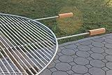 Edelstahl Grillrost für Feuerschale 100 cm, Auflegegrillrost, Profi-Grillrost in Top-Qualität! Test