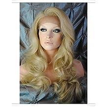"""WORLD HAIR 8 """"-26"""" sin cola recta peluca de encaje peluca del frente del cordón del pelo virginal brasileño con el pelo del bebé para las mujeres , 24 inch-black"""