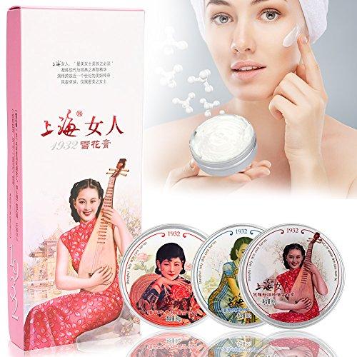 Feuchtigkeitsspendend Cream, Natürliche Creme für Trockene Haut und Empfindliche Haut, Gesichts Feuchtigkeitscreme Hydratisierende Geschenk Satz Hautpflege